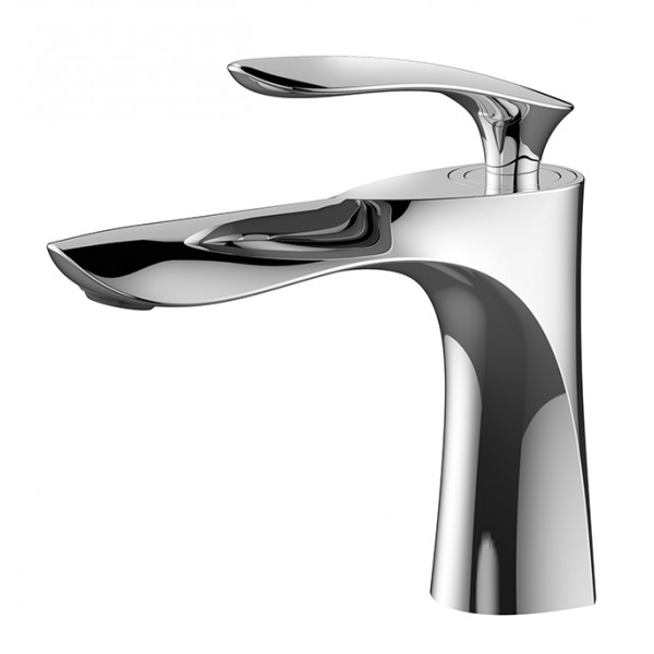 Modern Solid Brass Bathroom Lavatory Faucet BLF001D in Vancouver