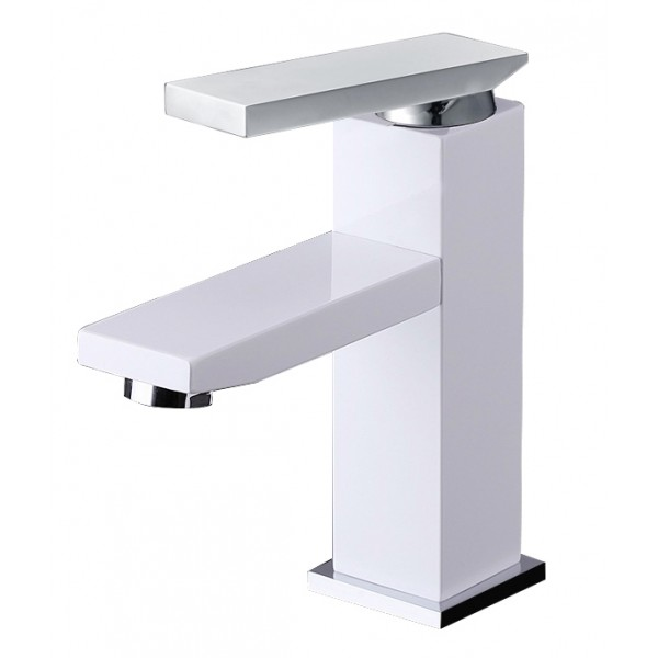 Modern Solid Brass Bathroom Lavatory Faucet BLF003A-W in Vancouver