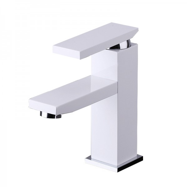 Modern Solid Brass Bathroom Lavatory Faucet BLF003A-CW in Vancouver