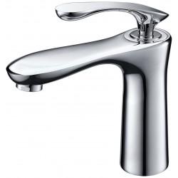 Solid Brass Bathroom Lavatory Faucet BLF001C