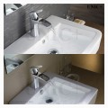 Modern Waterfall Style Solid Brass Bathroom Lavatory Faucet BLF004 in Vancouver