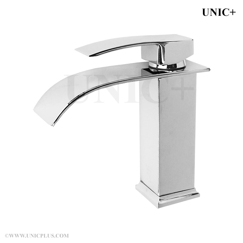 Waterfall Style Solid Brass Bathroom Lavatory Faucet BLF005 in Vancouver