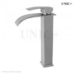 Waterfall Style Solid Brass Bathroom Vessel Sink Faucet BVF005