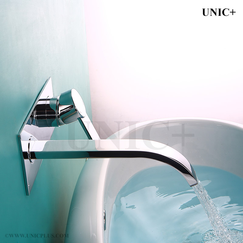 Solid Brass Bathroom Wall Mount Faucet BWF002 in Vancouver