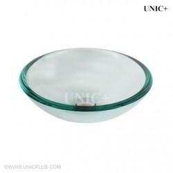 Clear Tempered Glass Bathroom Vessel Sink - BVG008