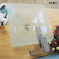 Modern Square Shape Frosted Tempered Glass Bathroom Vessel Sink - BVG009 in Vancouver