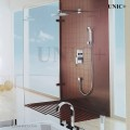 Modern Solid Brass Rain Style Walk In Bathroom Shower Set ( With Tub Filler )- BSS002 in Vancouver