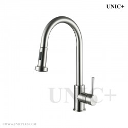 Pull Out Style Solid Brass Kitchen Faucet - KPF001