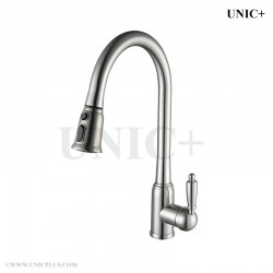 Pull Out Style Solid Brass Kitchen Faucet - KPF003