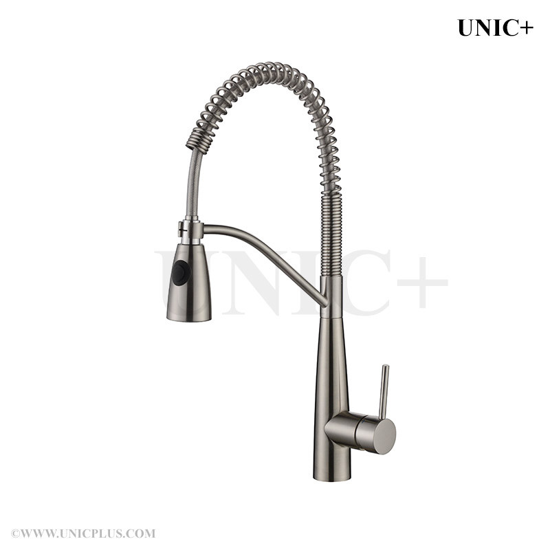 Pull Down Style Solid Brass Kitchen Faucet - KPF004 in Vancouver