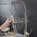 Modern Pull Down Style Solid Brass Kitchen Faucet - KPF005 in Vancouver
