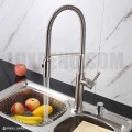 Modern Pull Down Style Solid Brass Kitchen Faucet - KPF007 in Vancouver