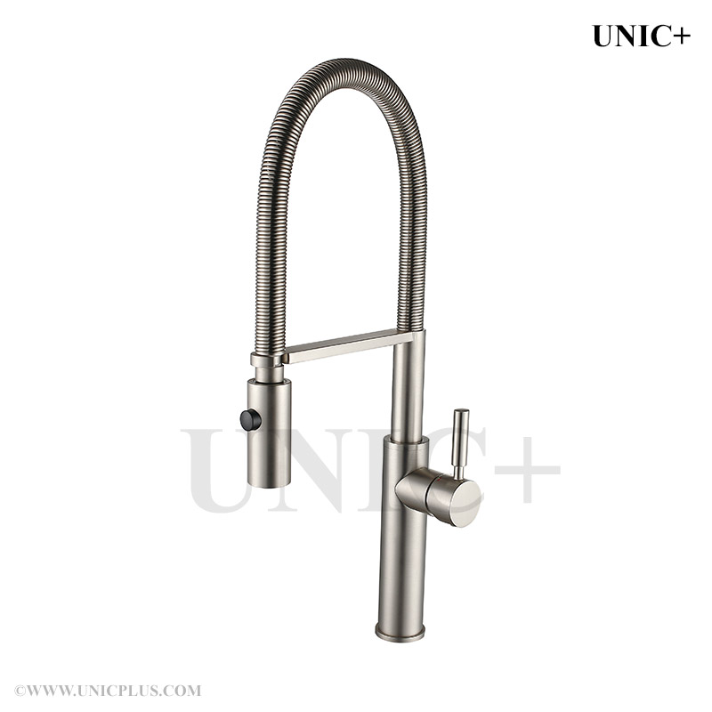 Lannister Pull Down Kitchen Faucet With Spring Spout Reviews