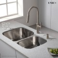 Modern Pull Out Style Solid Brass Kitchen Faucet - KPF008 in Vancouver