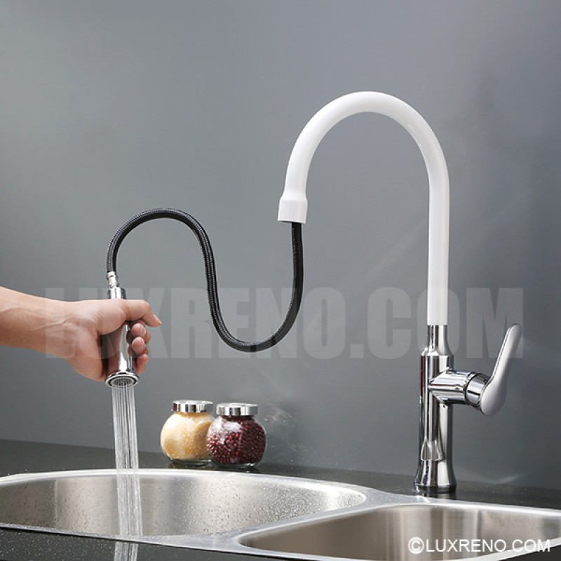 kitchen faucets vancouver pull out style solid brass kitchen faucet kpf008 in 13252