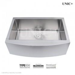 30 Inch Small Radius Stainless Steel Farm Apron Kitchen Sink - KAS3021 R