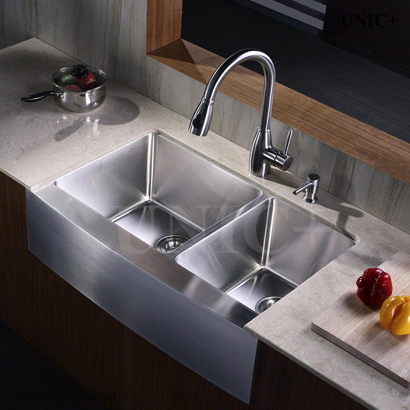 Kitchen Sinks Vancouver 33 inch small radius stainless steel farm apron kitchen sink 33 inch small radius stainless steel farm apron kitchen sink kar3321d in vancouver workwithnaturefo