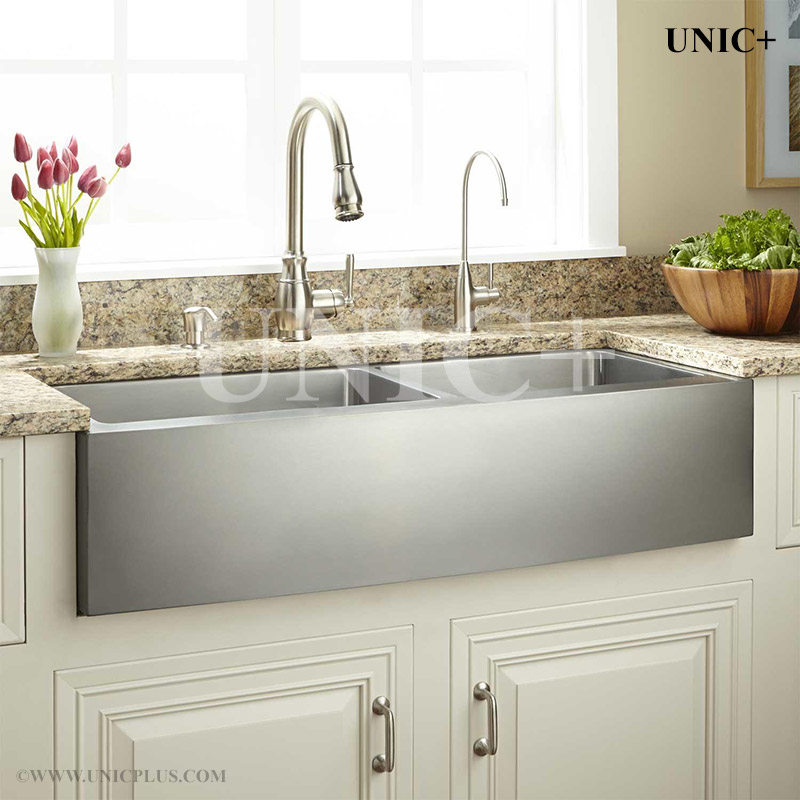 36 Inch Small Radius Stainless Steel Farm A Kitchen Sink Kar3621d In Vancouver