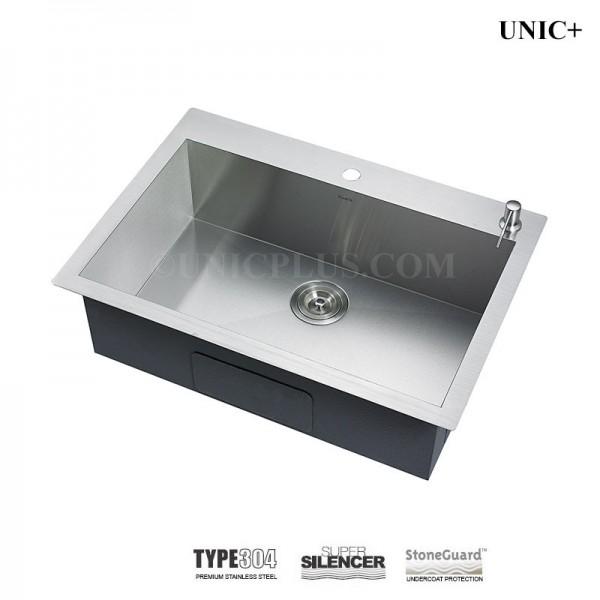 Modern 30 Inch Zero Radius Stainless Steel Top Mount Kitchen Sink - KTS3021in Vancouver