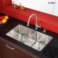 33 Inch Small Radius Style Stainless Steel Under Mount Kitchen Sink - KUD3318B in Vancouver