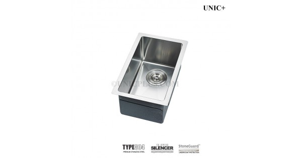 11 Inch Small Radius Style Stainless Steel Undermount Kitchen Bar Sink    KUR1118 In Vancouver