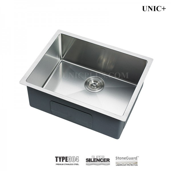 Modern 23 Inch Small Radius Style Stainless Steel Under Mount Kitchen Bar Sink - KUR2318 in Vancouver