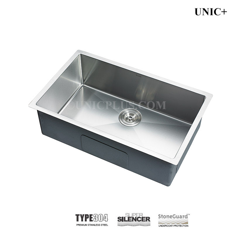 27 Inch Small Radius Style Stainless Steel Under Mount