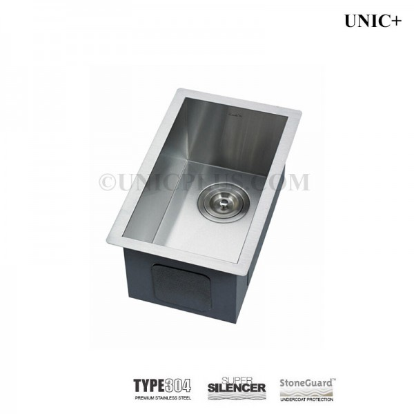 Modern 11 Inch Zero Radius Style Stainless Steel Undermount Kitchen Bar Sink - KUS1118 in Vancouver