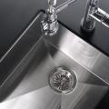Modern 17 Inch Zero Radius Style Stainless Steel Under Mount Kitchen Bar Sink - KUS1718 in Vancouver