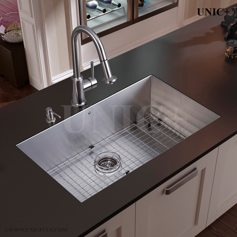 kitchen sink top 27 inch zero radius style stainless steel mount 2941