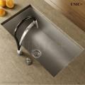 Modern 29 Inch Zero Radius Style Stainless Steel Under Mount Kitchen Sink - KUS2918 Z in Vancouver