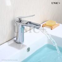waterfall style bathroom lavatory tap
